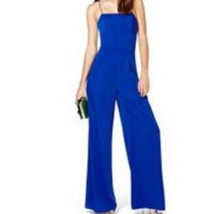 Nasty Gal After Midnight wide leg Jumpsuit